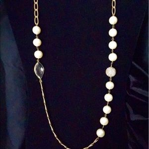 New Silpada Glitz and Pearls Necklace